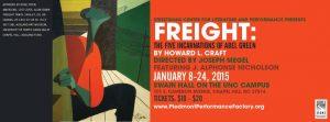 FREIGHT promo poster (full info)
