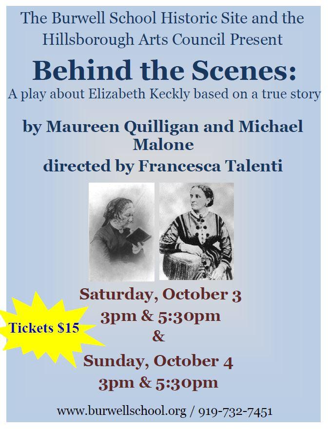 BehindtheScenes (Oct 3&4, 2015)