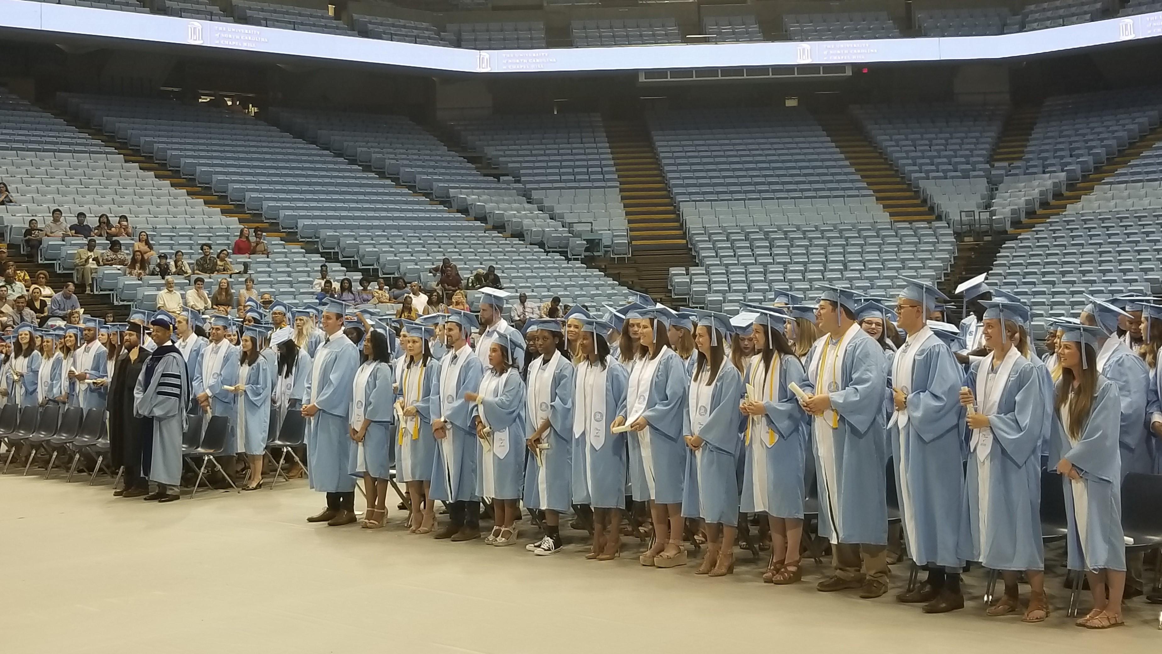 unc-ch comm graduation 2018