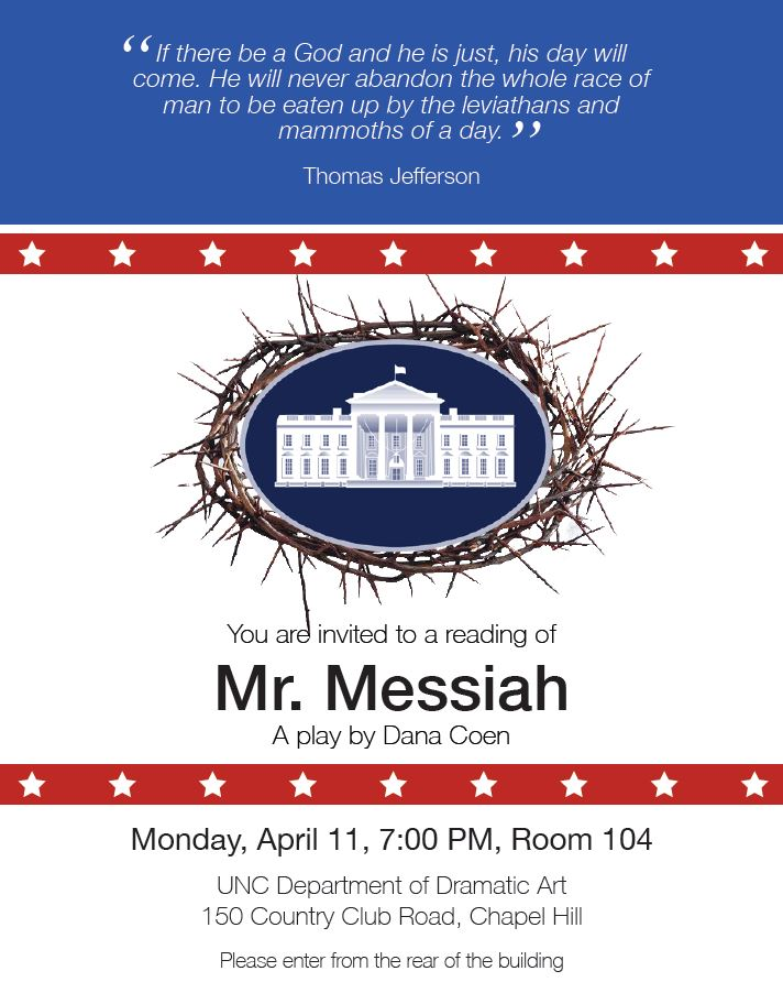 Mr. Messiah (Apr 2016)