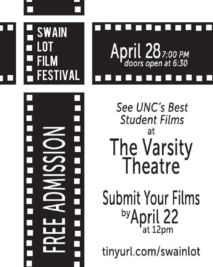 SwainLotFilmFestival 2016 (flyer)