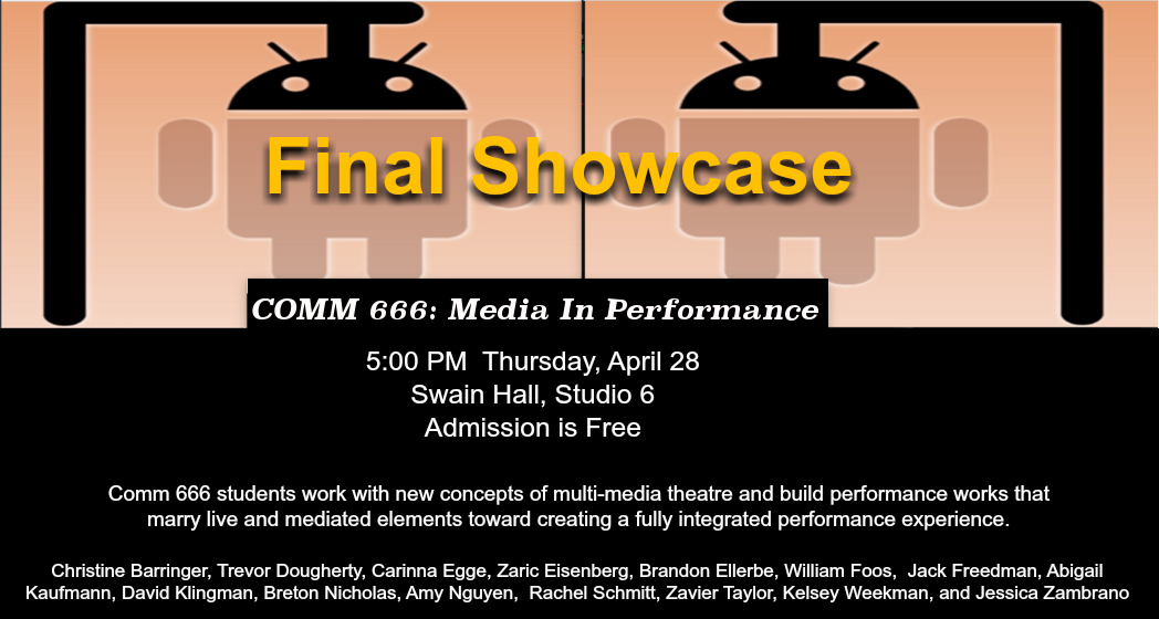 comm666 final showcase 2016 - POSTER