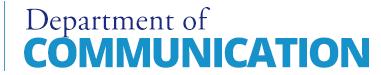 UNC Department of Communication